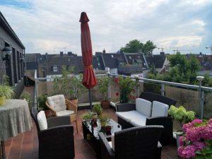 Entspannen über den Dächern von Essen